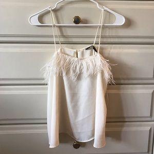 Zara white camisole